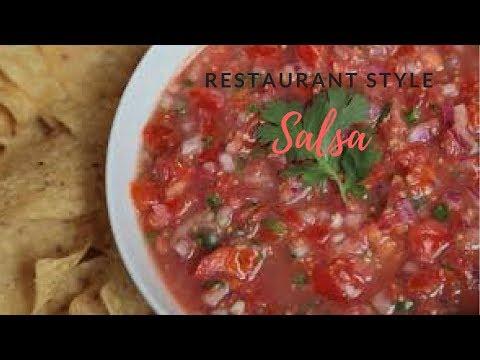 Recipe Share | Restaurant Style Salsa