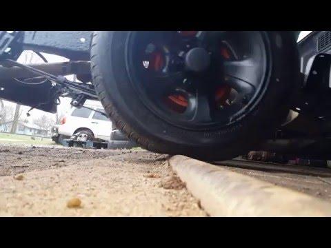 Slammed truck fail (gaining clearance)