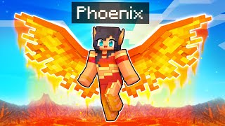 Rise of the Immortal PHOENIX In Minecraft!