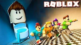 Roblox Adventures - BECOME A LIVING TOILET IN ROBLOX! (Poop Scoop Simulator)