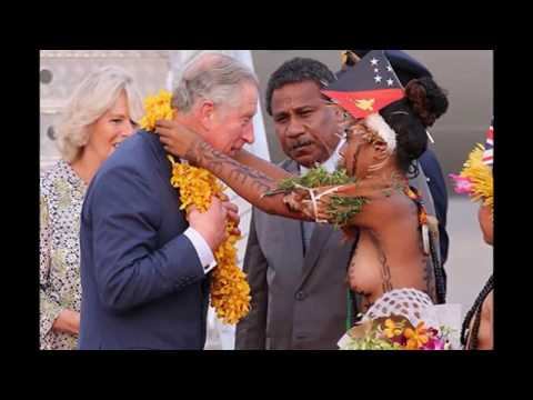 Prince Charles amazed by nude welcome in PNG ways