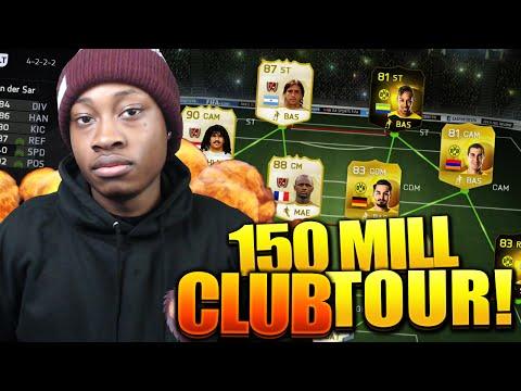 FIFA 15 - EPIC 150 MILLION COIN CLUB TOUR!!