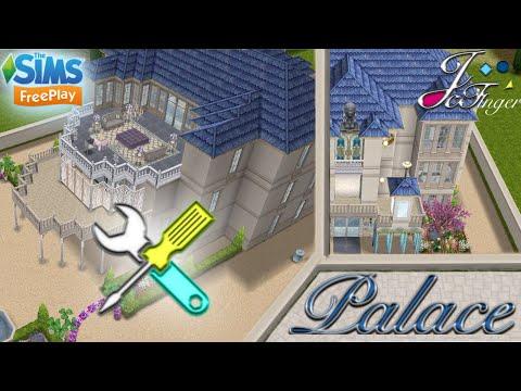 The Sims FreePlay 🛠| LIVE BUILD ⚠️| MEZZANINE PALACE | ⚜️👑 By Joy.