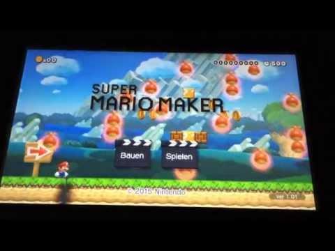 Super Mario Maker Crashed / Froze in New Super Mario Bros. U style