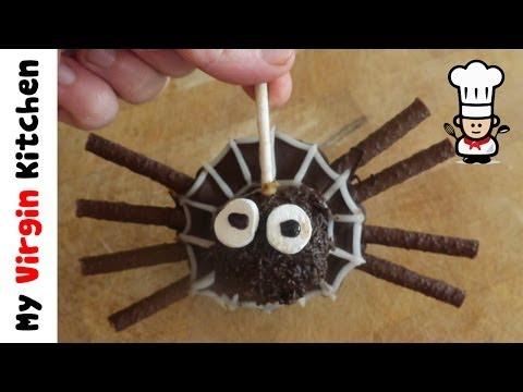 Jaffa Cake Truffle Spider Recipe MYVIRGINKITCHEN