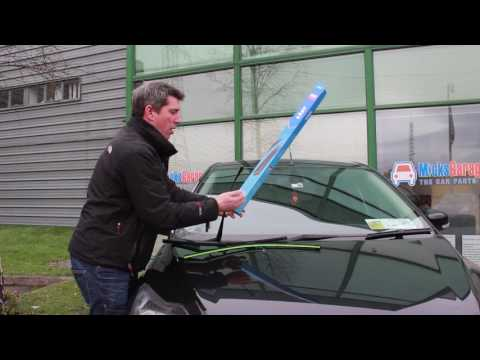 How to Fit A Wiper Blade To Your Vehicle ( Clip Type A)