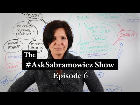 #AskSabramowicz Episode 6: Video, Learning Styles, & Context