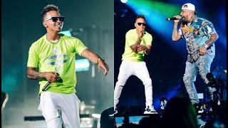 OZUNA - Amor Genuino en Vivo | TE ROBARE junto a Nicky Jam | Miami 2019.
