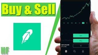 How to Buy and Sell Stocks on Robinhood (Beginner App Tutorial)