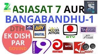 How to set AsiaSat7 105E Videos - 9tube tv