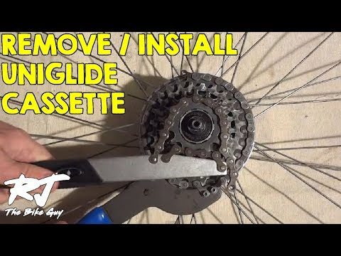 How To Remove/Install Shimano Uniglide Cassette