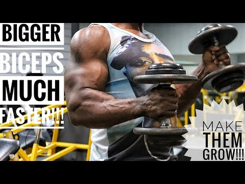 Tired Of Small Biceps?? This Workout Is For YOU!!!!!
