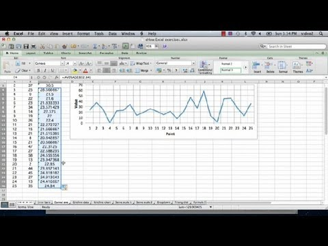 How to Make a Graph on Excel With a Cumulative Average : Excel Charts & Graphics