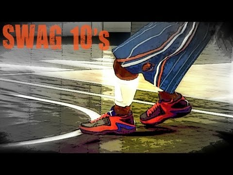 NBA 2k12 My Player: Signature Shoe Creation of the Swag 10's | Endorsement | Commercial