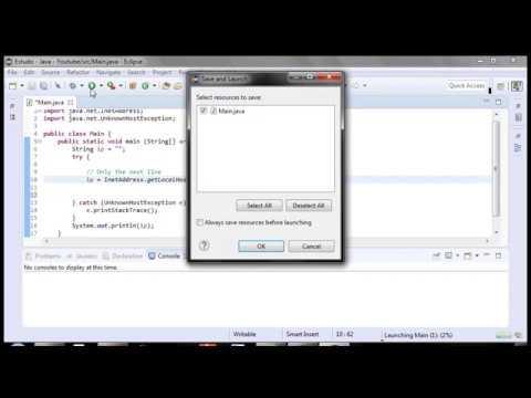 Como pegar o endereço de IP em Java | How to get the IP address in Java