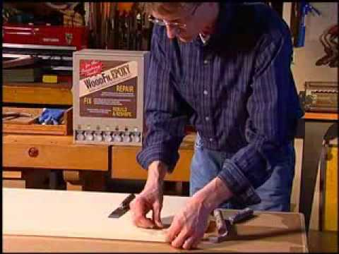 How to repair wood damage with WoodFil Epoxy