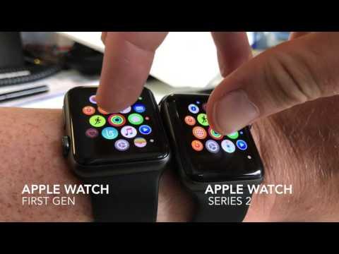 Apple Watch vs Apple Watch Series 2 speed comparison