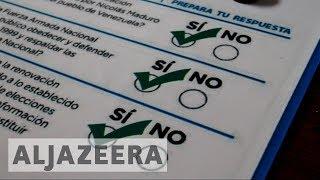 Venezuela opposition to hold symbolic referendum