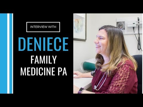 Interview with Deniece O'Leary, PA-C in Canada practicing Family Medicine