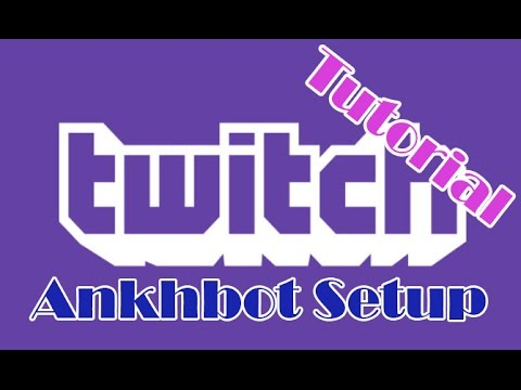 Tutorial - Ankhbot Setup (+ Point System, Spam filtering, Raffle)
