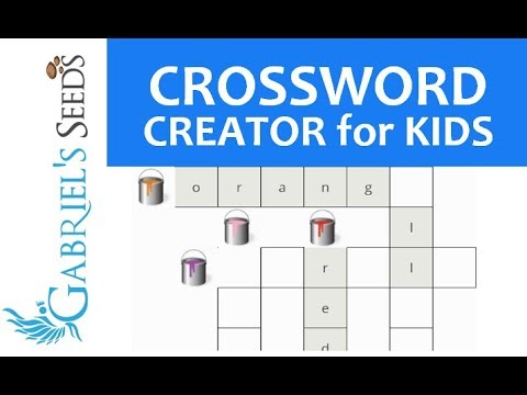 How to Create Crosswords for Kids with Word Puzzle Maker