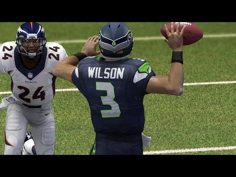 Russell Wilson Sparks Seahawks Comeback Attempt Full Game - Madden 25 Online Gameplay