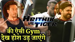 Download Hrithik Roshan Vs Tiger Shroff Gym Workout for Upcoming Action Movie Video