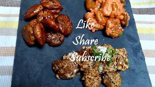 How to Cook Crispy Fried Potatoes | 3 types  | Starter home made recipe |  fry potatoes