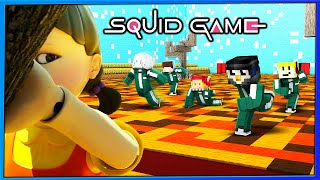 10 YouTuber spielen SQUID GAME aber in MINECRAFT