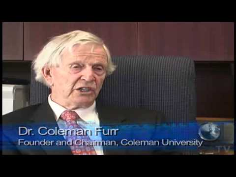 The Story of Coleman University and its founder Dr. Coleman Furr