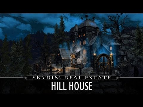 Skyrim Real Estate: Hill House (Vampire Manor Player Home)