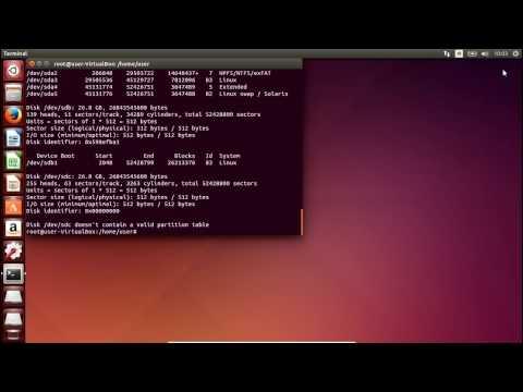 Add a hard drive to Ubuntu 14 04 LTS in two ways