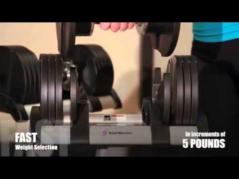 Core Home Fitness TwistLock Adjustable Dumbbells