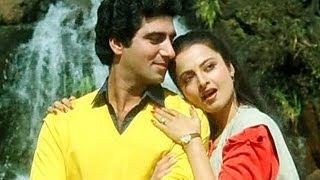Aya Jabse Tu Dil Mein - Raj Babbar - Rekha - Jhoothi - Bollywood Songs - Janaki