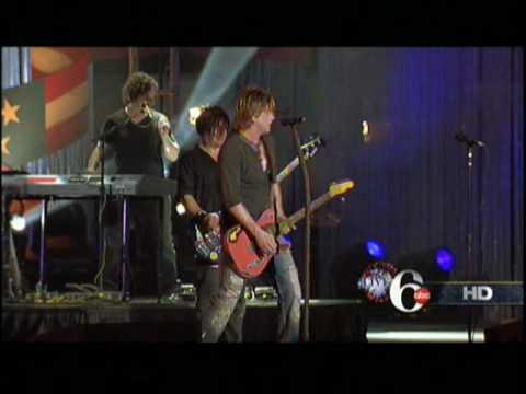 Goo Goo Dolls NEW SONG Big Machine Philadelphia Live 07/04/2010 2010