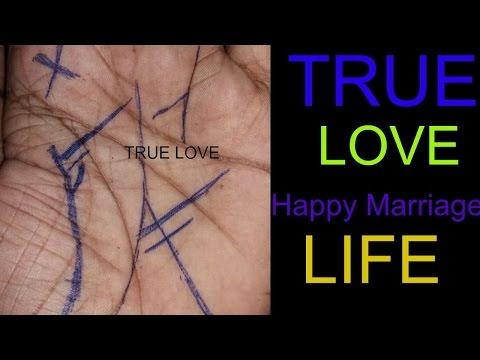 palmistry, true love(happy marriage life)