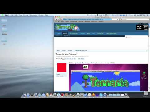 Install Terraria on a Mac