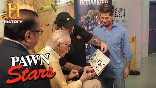 Pawn Stars Stan Lee Meets Chumlee season 14 History