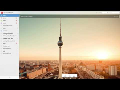 The Best Free To Do List Software: Wunderlist (Review + Tutorial)