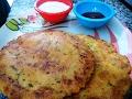 Makka Aloo ke parathe --Makai ka paratha - Cornmeal Paratha - Maize Flour Paratha -