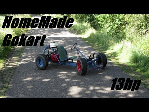 HomeMade Gokart | Topspeed, Donuts and Offroad