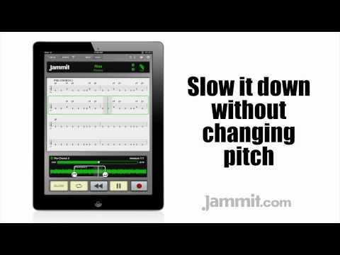 Jammit ipad iphone app Pantera Video Rise