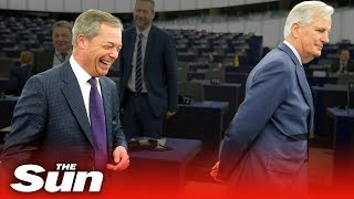 Nigel Farage's biggest BUST-UPS in the EU Parliament