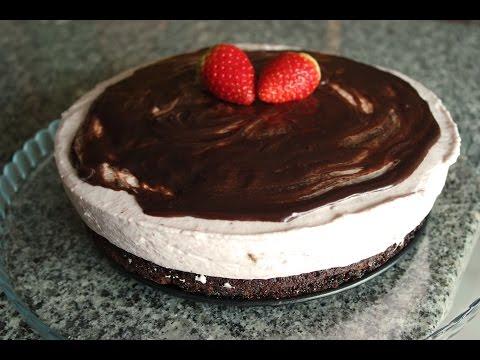 STRAWBERRY MOUSSE CHOCOLATE CAKE RECIPE | EM'S BAKING
