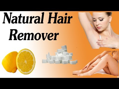 Best Hair Remover - How To Get Rid Of Underarm And Bikini Line Hair Naturally