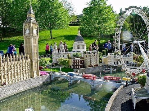 Miniland Walkthrough HD Legoland Windsor