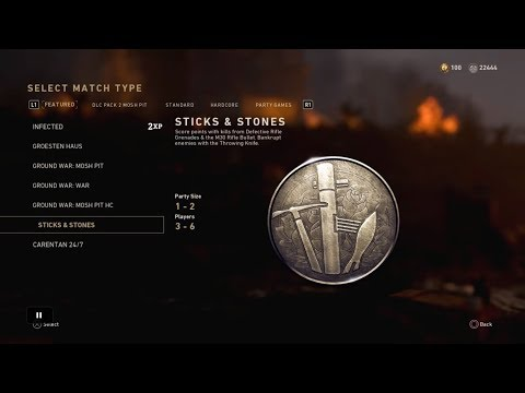 Call Of Duty WW2 Sticks and Stones Live Commentary