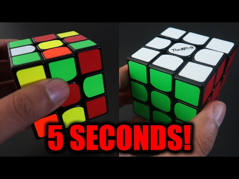 How to Solve a Rubik's Cube in 5 Seconds! 🔥