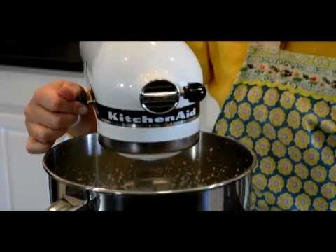 Buttermilk Waffles with Blueberry Syrup using KitchenAid® Products