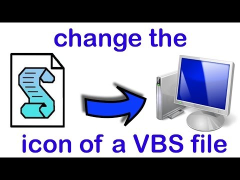 how to change icon of a vbs file